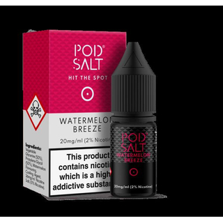 Pod Salt Fusion - Watermelon Breeze 10ml - 20mg/ml