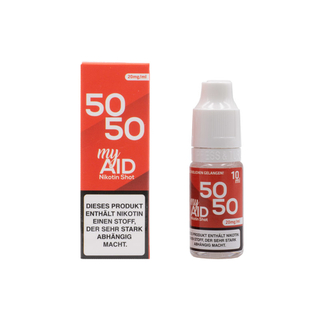 my AID - Nikotin Shots - 50/50 10ml 20mg/ml