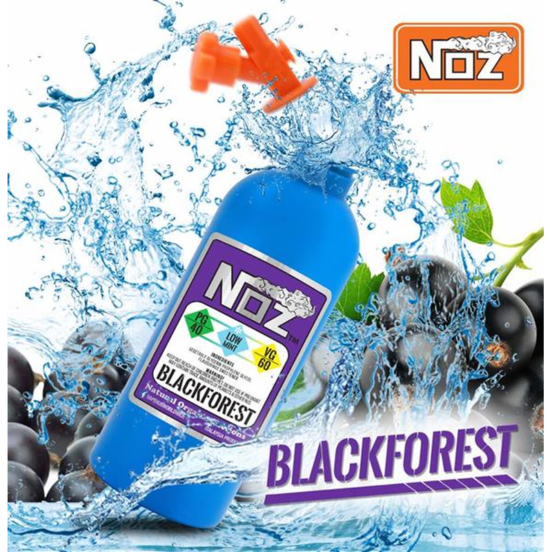 NOZ - Blackforest Low Mint 50 ml