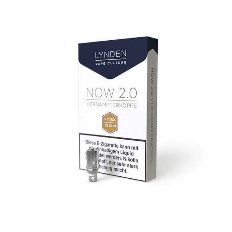 Lynden Now 2.0  5er Packung 0,5 Ohm