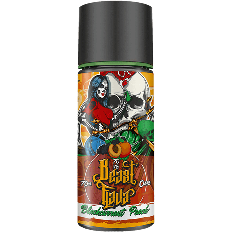 Beast Flava - Blackcurrant Peach 0mg 70ml