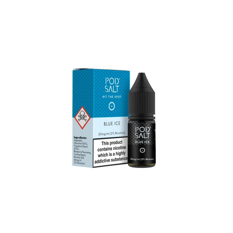 Pod Salt - Blue Ice 10 ml - 20 mg/ml