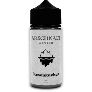 Arschkalt Winter Edition - Birnenkuchen 20ml Aroma