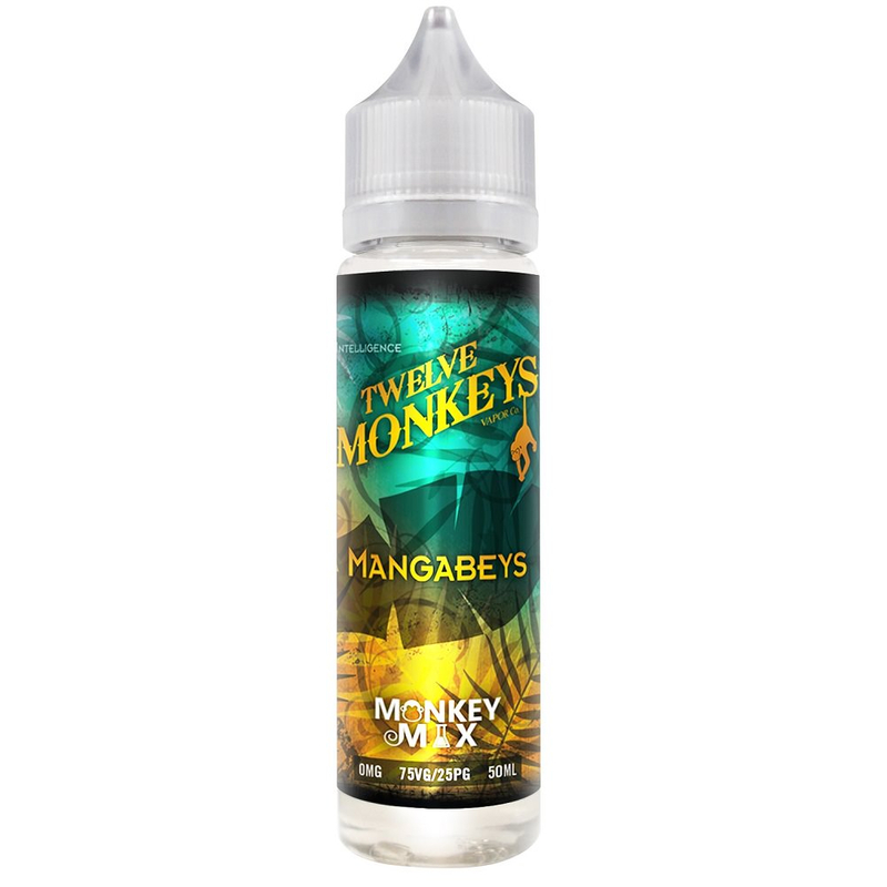 Twelve Monkeys Liquid 50 ml Mangabeys
