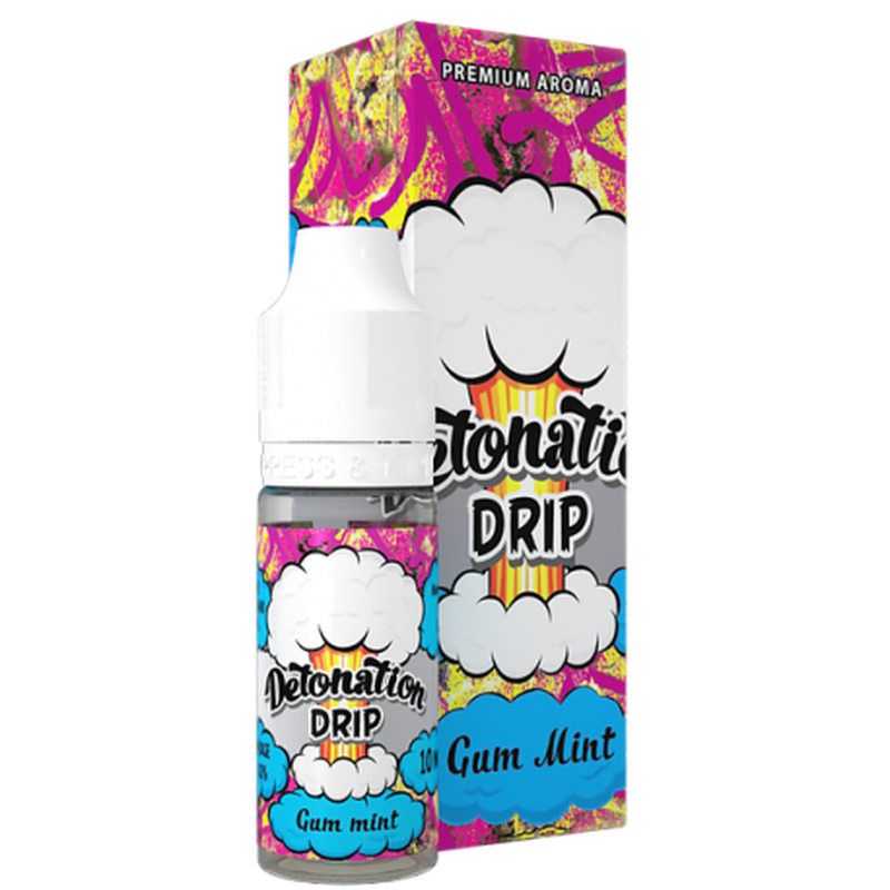 Gum Mint by Detonation Drip 10ml Aroma
