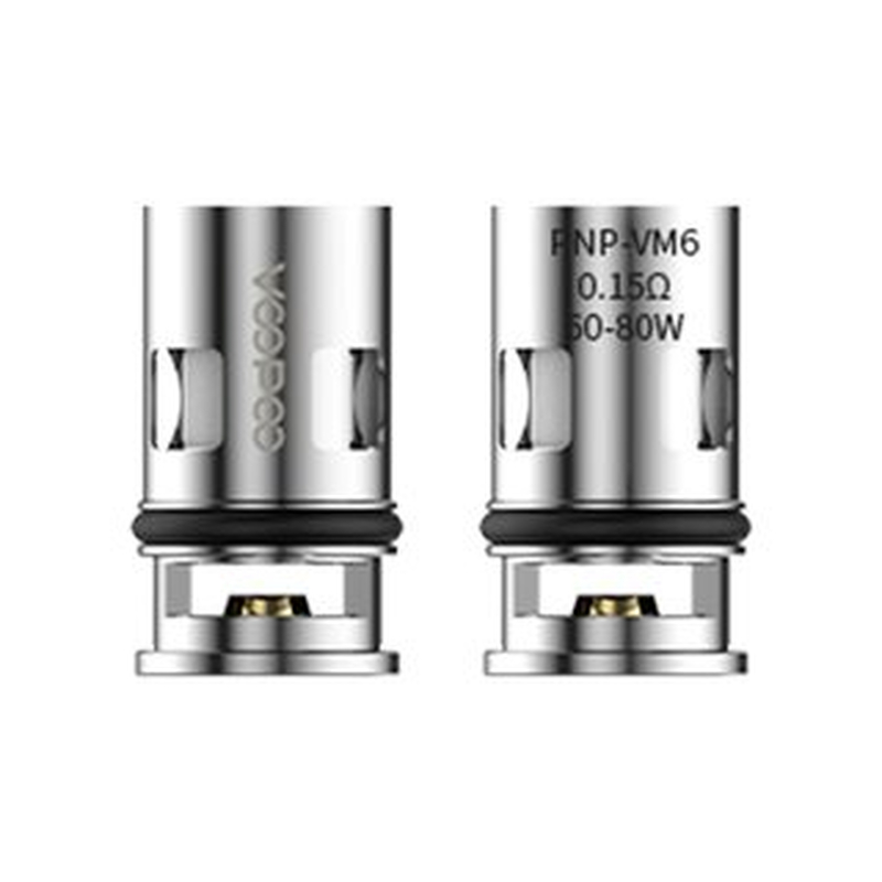 VooPoo PNP-VM6 0,15 Ohm Head (5 Stück pro Packung)