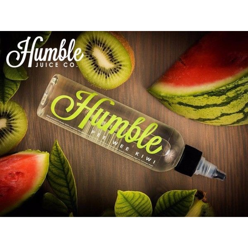 HUMBLE JUICE - Pee Wee Kiwi PLUS 100ml platz für 2 Shots Premium E-Liquid Aroma