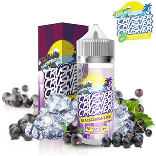 Crusher E-Liquid - Blackcurrant Ice 0 mg 100 ml